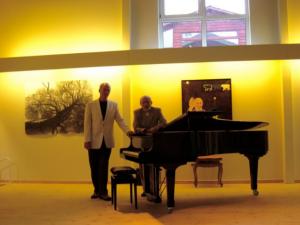 Alessandro Nobbio og Torsten Juul Borre, klaver-duo @ John's Hall | Frøstrup | Danmark