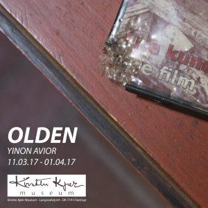 """""""OLDEN"""", Yinon Avior ARTIST-IN-RESIDENCE"""