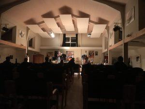 Koncert-Basel music free improvisation class @ John's Hall | Frøstrup | Danmark